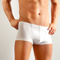 Image of a man in briefs